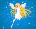Winter angel Royalty Free Stock Photos