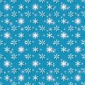 Winter background gala vector seamless illustration eps Royalty Free Stock Photo