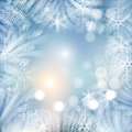 Winter background the illustration contains transparency and effects eps Royalty Free Stock Photo
