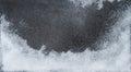 Winter background. White snow dark stone texture Royalty Free Stock Photo