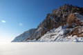 Winter Baikal Stock Photography