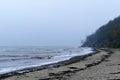Winter Beach, Rough Coast And ...