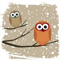 Winter bird Stock Photography