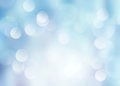 Winter blur.Blue bokeh blur background.