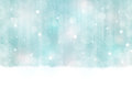 Winter bokeh background seamless horizontally abstract in colors with blurry light dots snowfall and light effects give it a Royalty Free Stock Photo