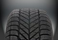 Winter car tire brand new modern Stock Images