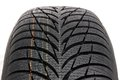 Winter car tire brand new modern Stock Image