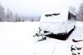 Image : Winter Caravan sahara of