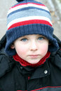 Winter child Stock Images
