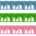 Winter Christmas Banners Royalty Free Stock Photography