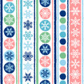 Winter, Christmas or New Year seamless vector pattern