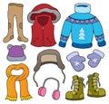 Winter clothes topic set 2