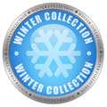 Winter collection icon isolated on white Stock Images