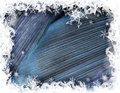 Winter decorative illustration Royalty Free Stock Photo