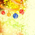 Winter delightful snowfall colorful elegant on abstract background Royalty Free Stock Image