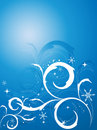 Winter elegant vector Stock Photography