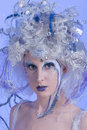 Winter Fairy Stock Photography