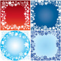 Winter framework. Royalty Free Stock Images