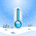 Winter Freeze Concept Royalty Free Stock Photo