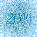 Winter frosen pattern new year in the frozen window Stock Photo