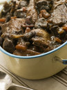 Winter Game Casserole In a Casserole Dish Royalty Free Stock Photos