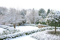 Winter garden Royalty Free Stock Photo