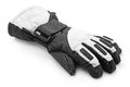 Winter gloves ski on white Royalty Free Stock Photos