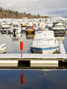 Winter harbour Royalty Free Stock Photo