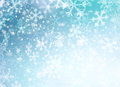 Winter Holiday Snow Background Royalty Free Stock Photo
