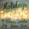 Winter Holidays Set