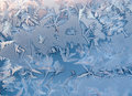Winter icy patterns Royalty Free Stock Photo