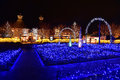 Winter illumination in Mie, Japan Royalty Free Stock Photo