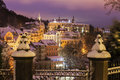 Winter in Karlovy Vary Royalty Free Stock Photo