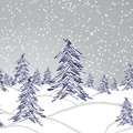 Winter landscape Royalty Free Stock Photo