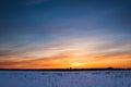 Winter Landscape. Composition ...