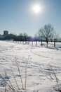 Winter landscape in Modena Royalty Free Stock Photos