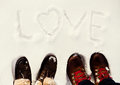 Winter love Royalty Free Stock Photo