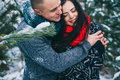 Winter Love Story Royalty Free Stock Photo