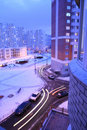 Winter Moscow, Russia Royalty Free Stock Photo