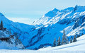 Winter mountain(Austria, Tyrol) Royalty Free Stock Photo