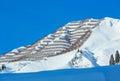Winter mountain (Austria, Tyrol) Royalty Free Stock Photo
