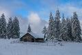 Winter mountain Royalty Free Stock Photo