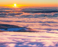 Winter mountains in norway trysil Royalty Free Stock Photography