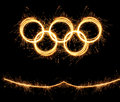 The winter olympiad sochi russia olympics games of xxii Royalty Free Stock Images