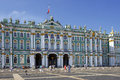 Winter Palace and Hermitage museum in Saint Petersburg, Russia Royalty Free Stock Photo