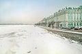 Winter palace and Neva Royalty Free Stock Photo