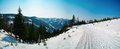 Winter panorama Royalty Free Stock Images