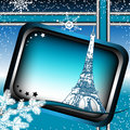 Winter in Paris Royalty Free Stock Images