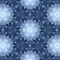 Winter pattern from snowflakes Royalty Free Stock Image