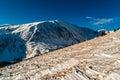 Winter on Quandary Peak Royalty Free Stock Photo